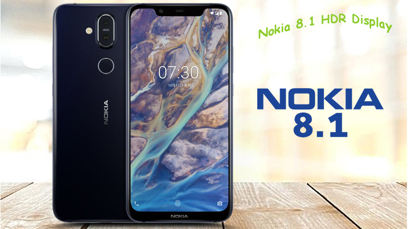Nokia 8.1 With Dual Rear Camera And Snapdragon 710
