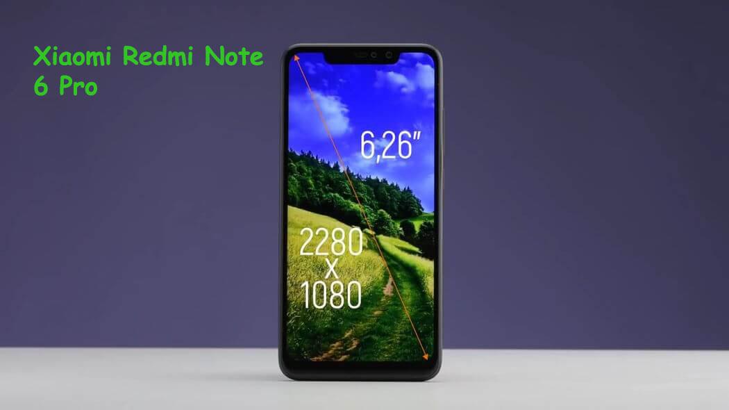 Xioami Redmi Note 6 Pro With 4 Cameras
