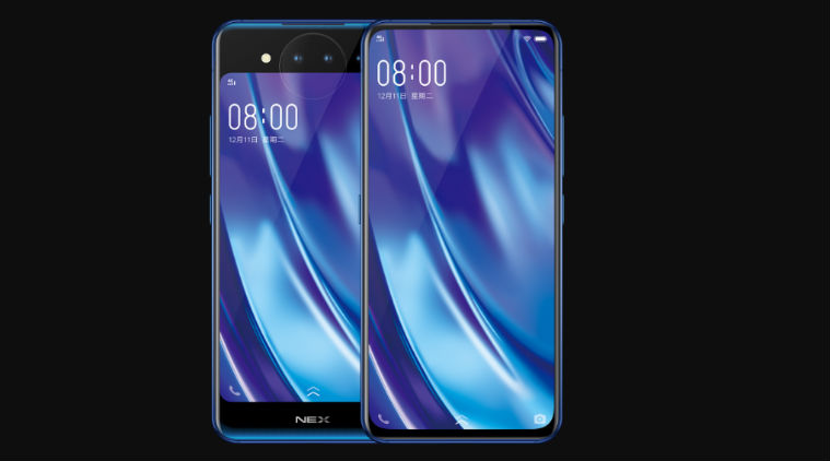 Vivo Nex With Dual AMOLED Screen And Triple Cameras