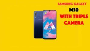 Samsung Galaxy M30 With Triple Rear Camera