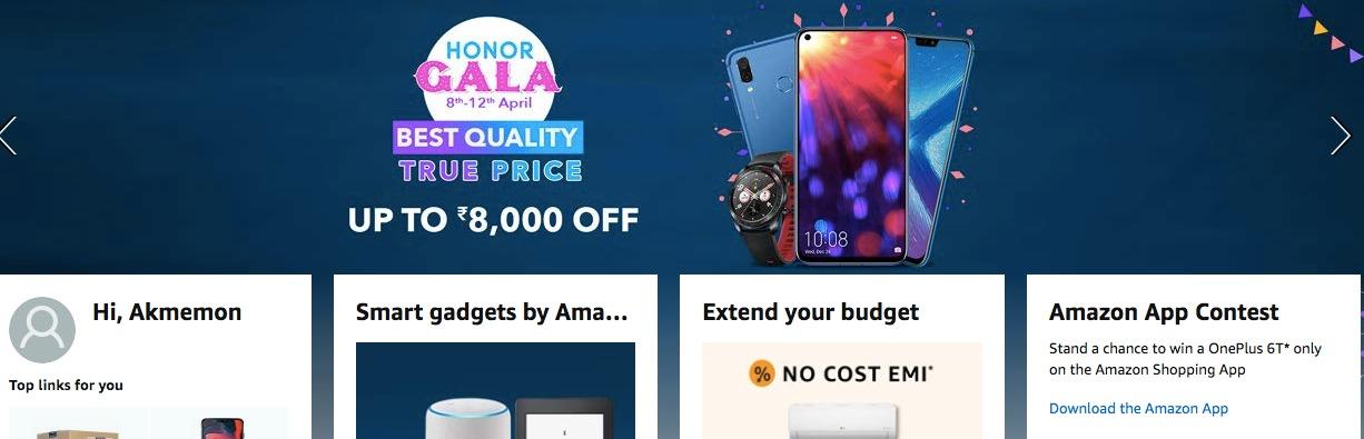 Honor Gala Festival Sale