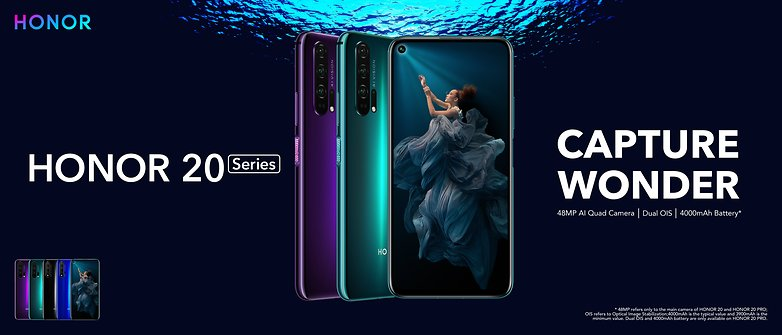 Honor 20 Pro With Hole Punch Display