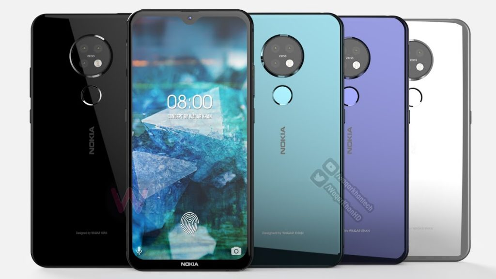 Nokia 7.2 With triple Rear Camera