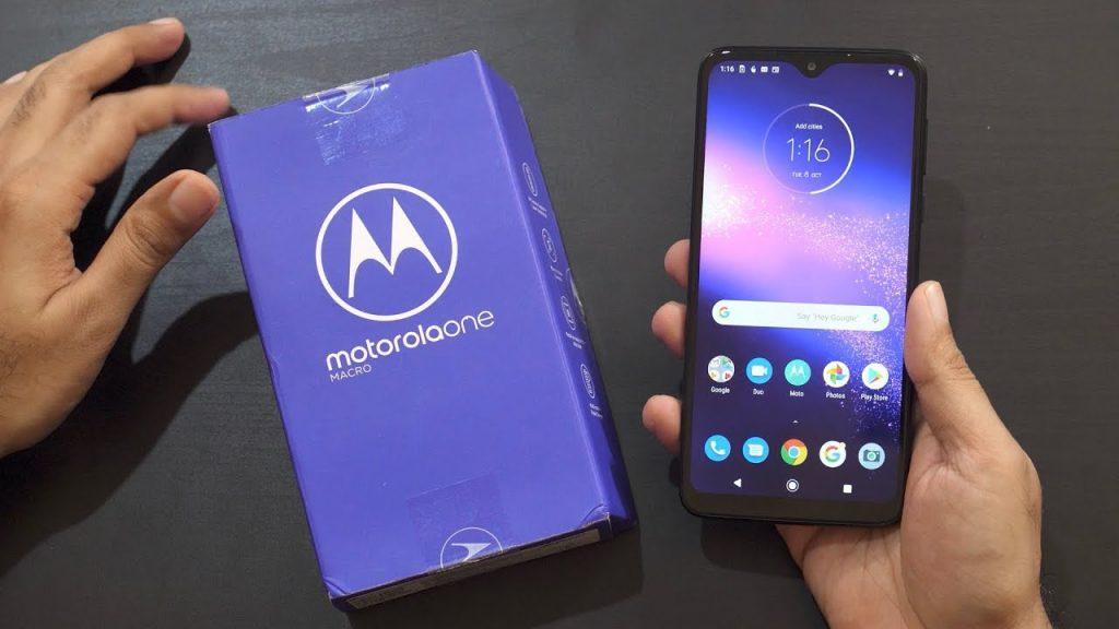 Motorola One Macro With Dedicated Macro Camera