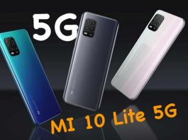 MI 10 Lite 5G With Quad Rear Camera